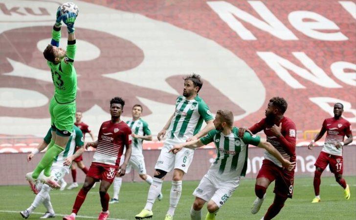 ÖZET   Konyaspor 0-0 Hatayspor
