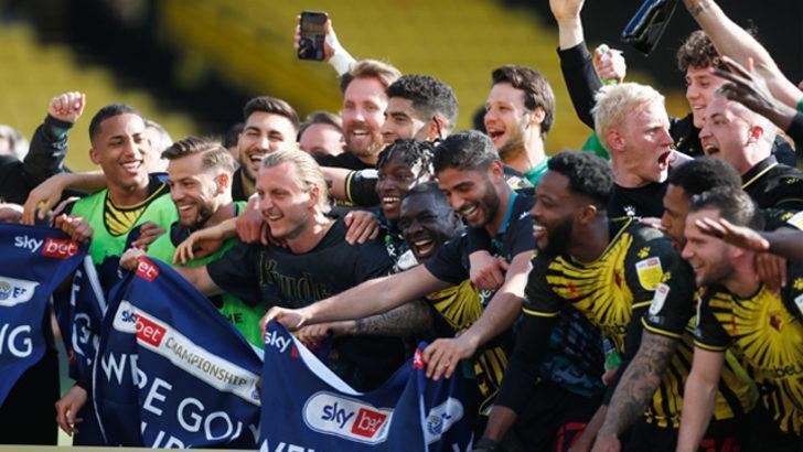 Watford yeniden Premier Lig'de