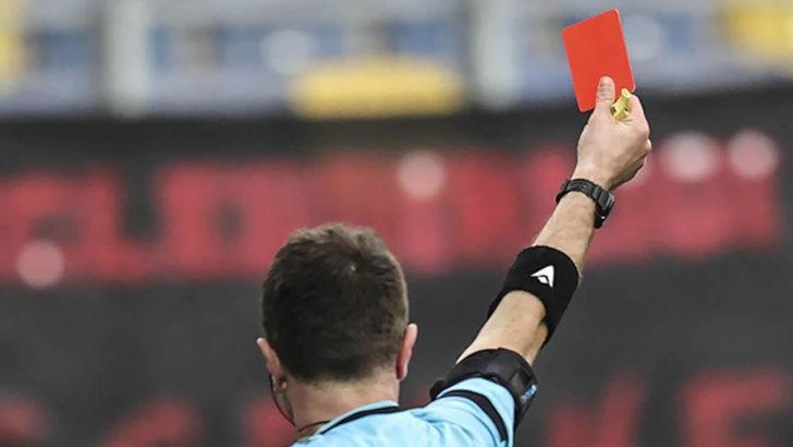 Süper Lig'de kırmızı kart görmeyen takım kalmadı