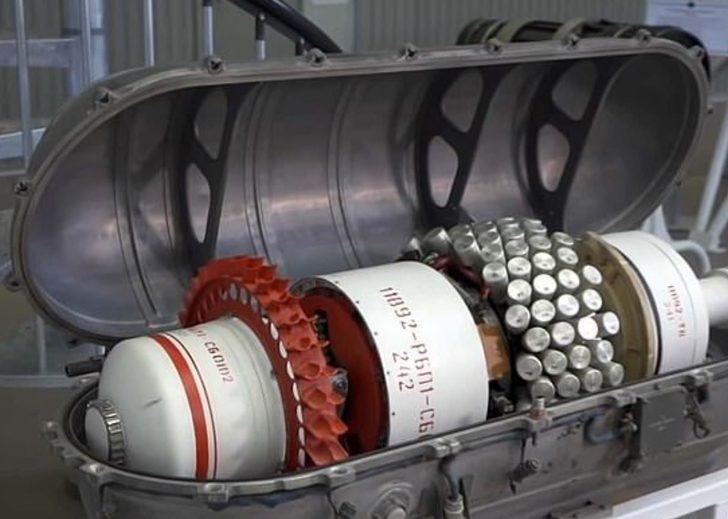 Uzaydaki askeri üs tehdidine karşı geliştirildi! Rusya paylaştı: İşte uzay topu