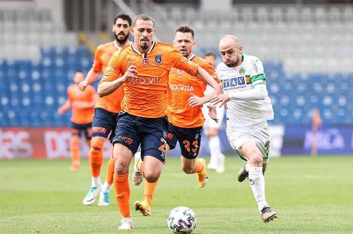 Medipol Başakşehir 0-0 Aytemiz Alanyaspor (Maç sonucu)