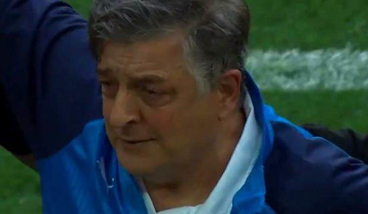 Yılmaz Vural gözyaşlarını tutamadı! | Erzurumspor'un galibiyeti Yılmaz Vural'ı ağlattı