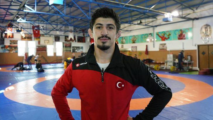 Milli güreşçi Kerem Kamal, Avrupa ikincisi oldu