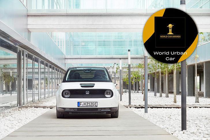 Dünyada yılın şehir otomobili Honda e oldu