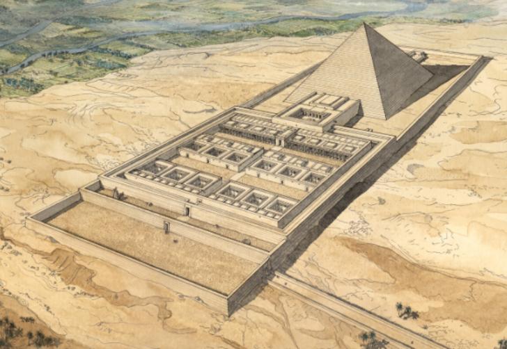 Mezarını korumak için tuzaklarla dolu bir piramit inşa ettiren Mısır firavunu: III. Amenemhat