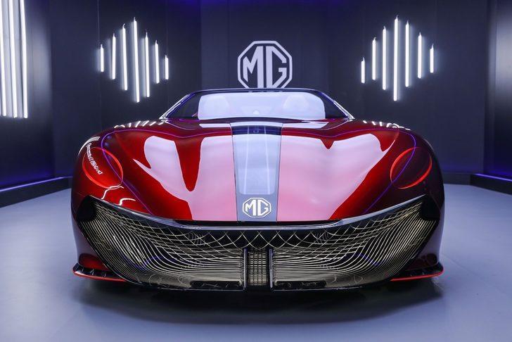 MG'den 800 KM menzilli elektrikli roadster konsepti