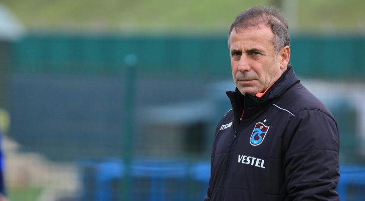 Trabzonspor'da Abdullah Avcı antrenmana katılamadı
