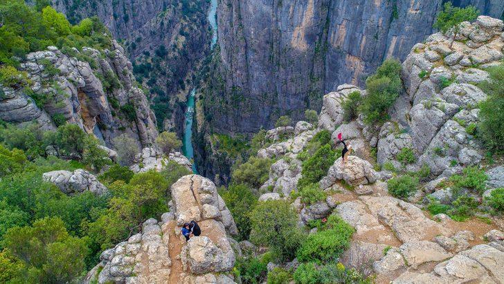 Antalya'nın büyüleyici kanyonları turistlerin ziyaretini bekliyor