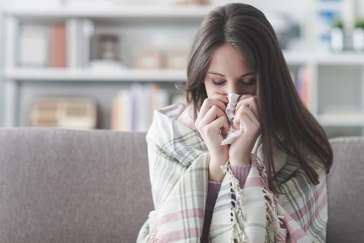 Sık sık grip olmayan kadınların 7 ortak özelliği