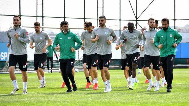 Konyaspor'da Galatasaray maçı öncesi 5 eksik