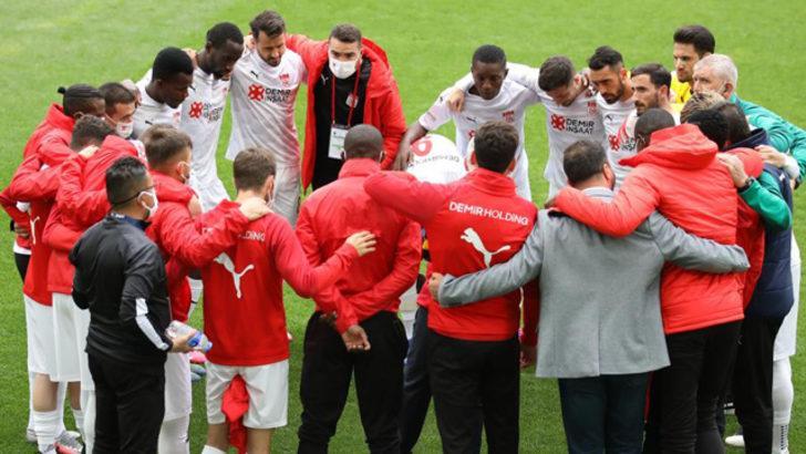 Sivasspor'da Yeni Malatyaspor maçı öncesi 4 eksik
