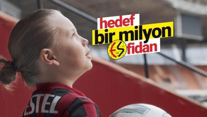 Eskişehirspor'dan '1 milyon fidan kampanyası'