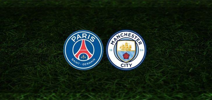 PSG Manchester City maçı saat kaçta, hangi kanalda? İşte muhtemel 11'ler...