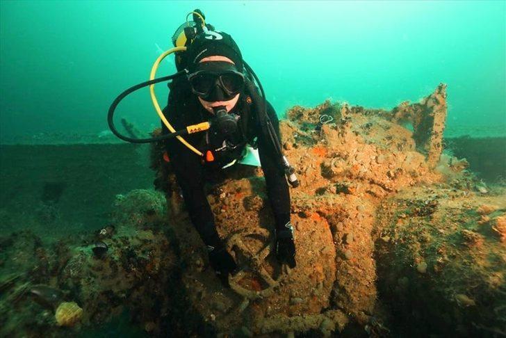 Dalış turizminde hareketlilik! 2. Dünya Savaşı'nda kalan Alman denizaltısı görücüye çıkıyor