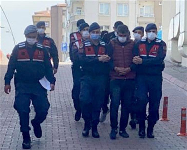 Kayseri'de bağ evleri ve yazlıklardan kiralık araçlarla hırsızlık yapan zanlılar yakalandı