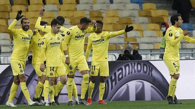 Villarreal, Arsenal'i 2-1 mağlup etti