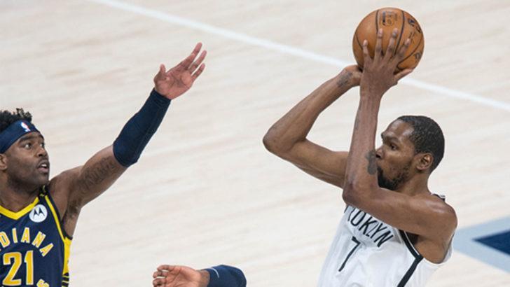 Brooklyn Nets, deplasmanda Indiana Pacers'ı mağlup etti