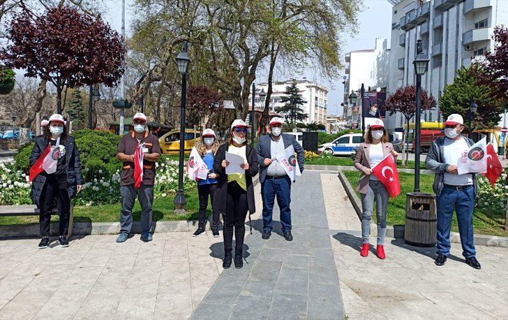 Sinop ve Tokat'ta 1 Mayıs Emek ve Dayanışma Günü dolayısıyla basın açıklaması yapıldı