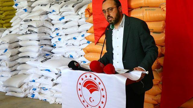 Nevşehir'de çiftçilere yerli fasulye tohumu dağıtıldı