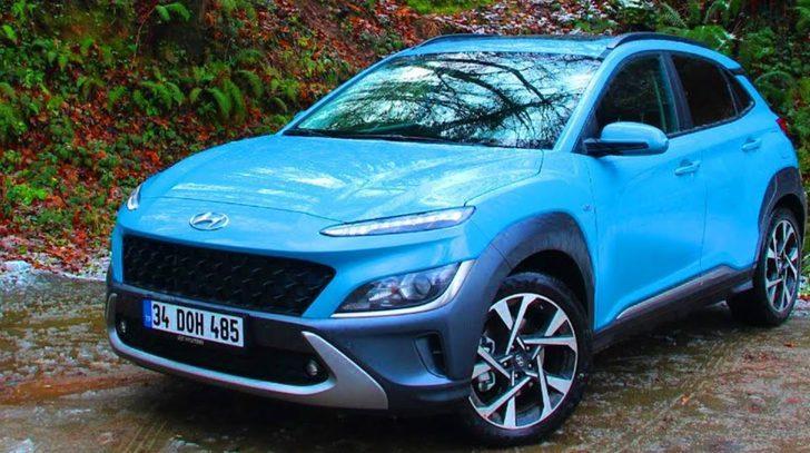 2021 Yeni Hyundai Kona 1.6 CRDi hibrit test sürüşü