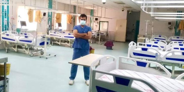 Kadirli Devlet Hastanesi Başhekimi paylaştı: Covid yoğun bakımda sıfır vaka