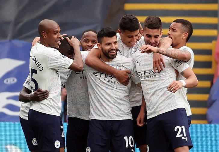 MAÇ SONUCU   Crystal Palace 0-2 Manchester City