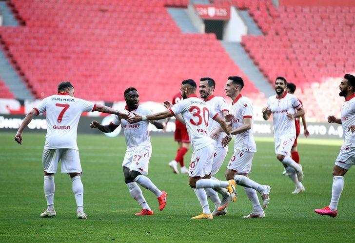 Samsunspor Süper Lig umudunu son haftaya taşıdı
