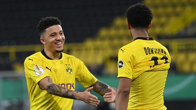 Dortmund, Almanya Kupası'nda finale yükseldi