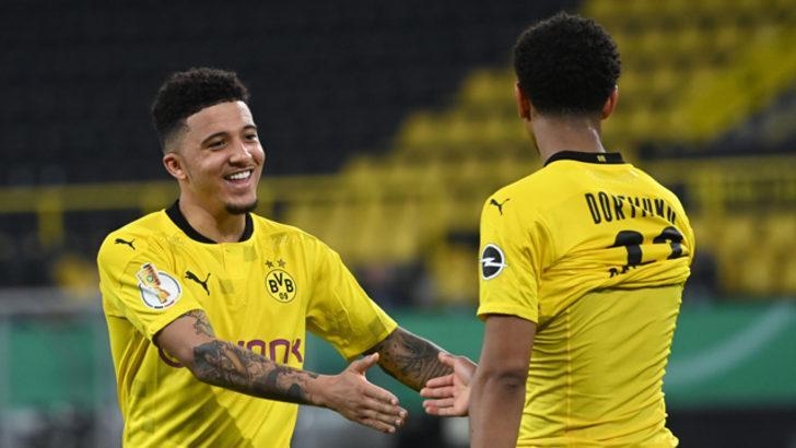 ÖZET   Borussia Dortmund - Holstein Kiel maç sonucu: 5-0