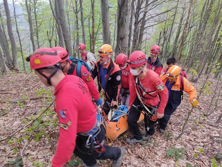 Ormanlık alanda korkunç olay! AFAD ve AKUT ekipleri devreye girdi