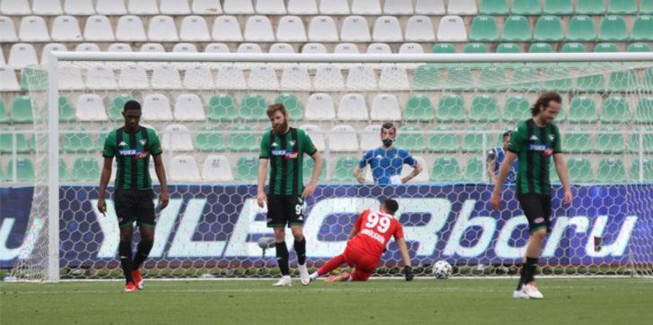 Süper Lig'den ilk düşen takım Denizlispor oldu!