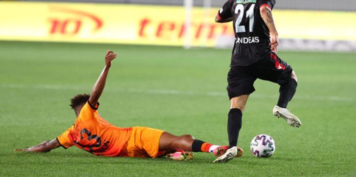 Gençlerbirliği-Galatasaray maçında Gedson Fernandes ve kırmızı kart tartışması