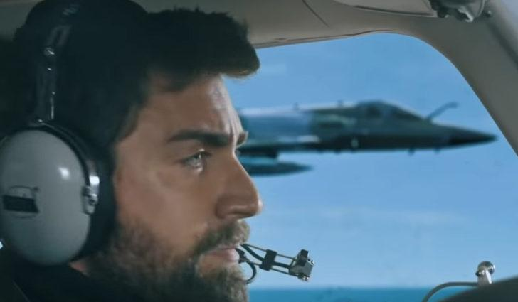 """Teşkilat dizisi 9. son bölümde nefes kesen F-16 sahnesi! Türk jetleri, Yunan jetlerine dersini verdi! """""""