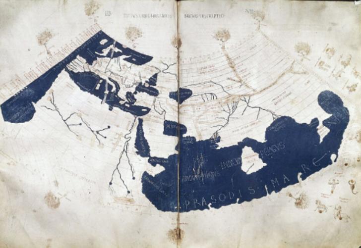 Dönemin en ünlü bilim insanın kaleminden çıkan ilk dünya haritası! Asırlar öncesinde dünyayı çizen bilim insanı: Klaudyos Batlamyus