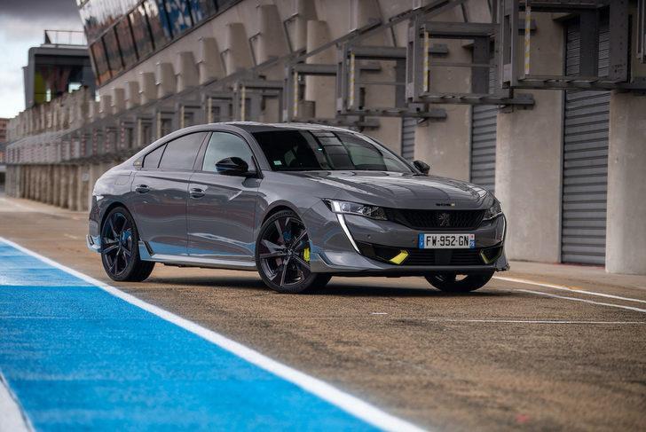 Hızlı pilotların tercihi 508 Peugeot Sport Engineered oldu!