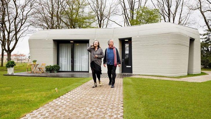 Avrupa'da bir ilk: Ev 3 boyutlu yazıcıyla inşa edildi