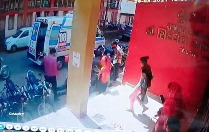 Hindistan'daki görüntüler dünyayı dehşete düşürdü!