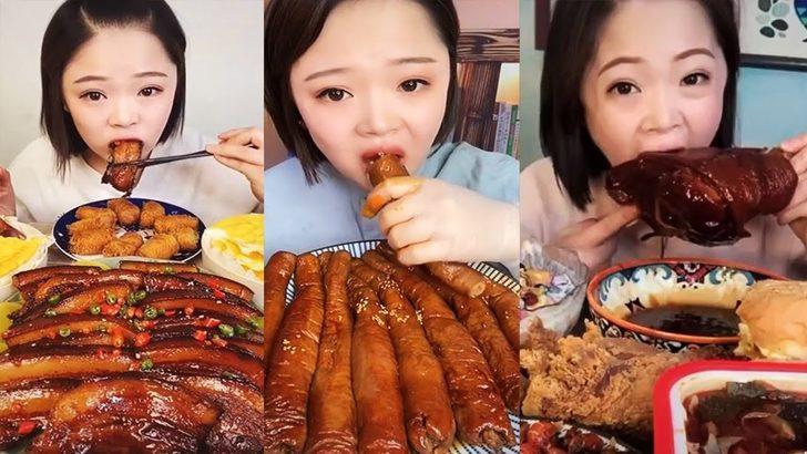 Çin'de Mukbang videolarına yasak geldi