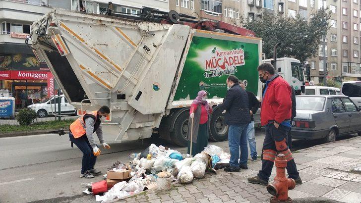 Belediye ekipleri seferber oldu! Bulmak için çöpleri tek tek aradılar!