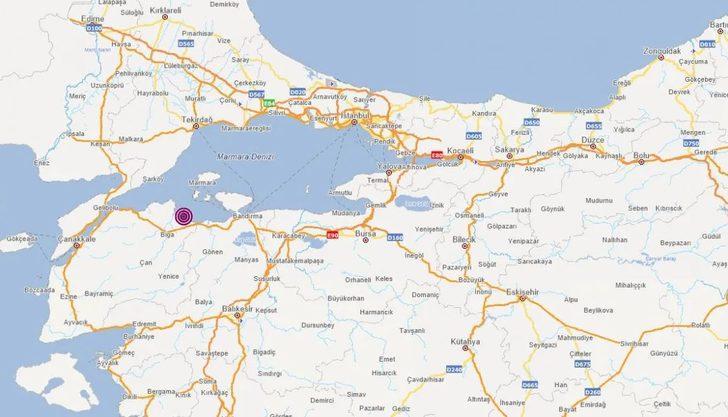 Son Dakika: Çanakkale'de 4.0 büyüklüğünde deprem! İstanbul'da da hissedildi
