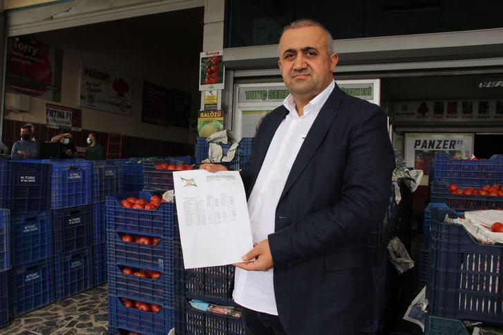 Sadece marketleri çalışınca, halde 30 kuruş olan salatalık markette 5,95 lira oldu!