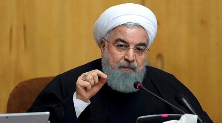 Ruhani: ABD'nin İran'a yönelik yaptırımları kısa zamanda kalkacak