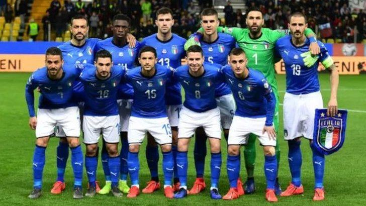 EURO 2020: Türkiye-İtalya maçıyla başlayacak turnuva öncesi öncesi İtalyan futbolculara ilk doz aşıları yapıldı