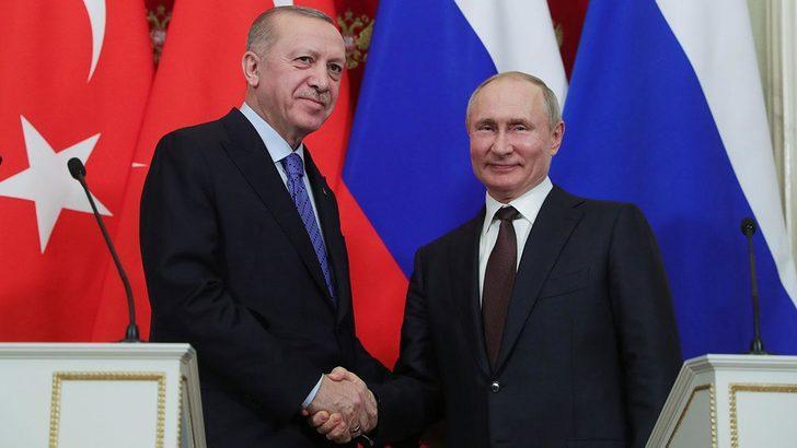 Son dakika! Cumhurbaşkanı Erdoğan, Putin ile görüştü