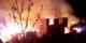 Düşen yıldırım felakete neden oldu! 6 ev alev alev yandı