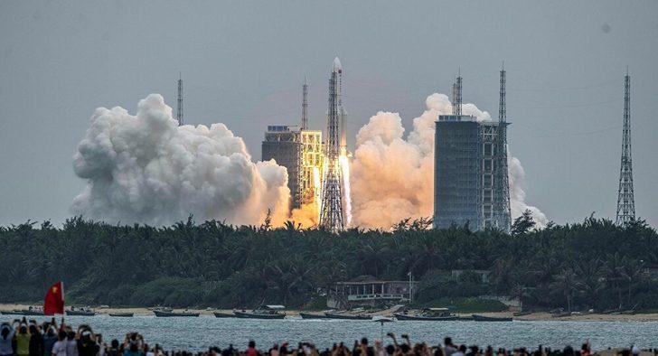 Çin roketi kontrolden çıktı! Nereye düşecek