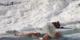 'Beyaz Cennet' turistlere kaldı! Akın ettiler