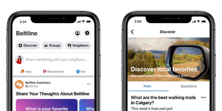 Facebook, komşuları birbirine bağlamak için harekete geçti!