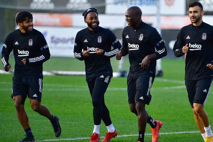 Beşiktaş'ta Aboubakar ve N'koudou Galatasaray derbisinde yok