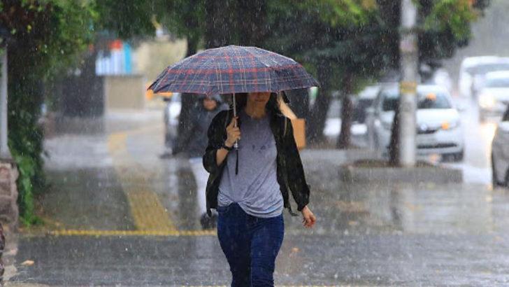 Meteoroloji'den Marmara Bölgesi için öğleden sonra aralıklı sağanak yağış uyarısı